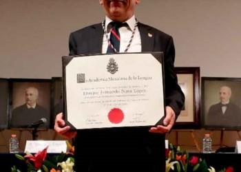 Ingresó Fernando Nava a la Academia Mexicana de la Lengua como miembro de número