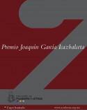 Entrega del Premio Joaquín García Icazbalceta a los tres mejores trabajos de titulación