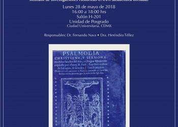Invitación a la conferencia