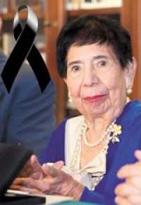 Don Vicente Quirarte y doña Margo Glantz recuerdan la obra de doña Clementina Díaz y de Ovando
