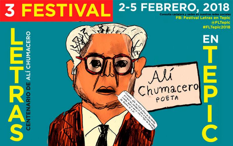 Concluyó la tercera edición del Festival Letras en Tepic