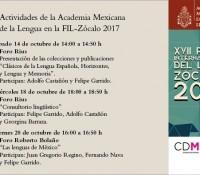 Participación de la AML en la FIL del Zócalo 2017