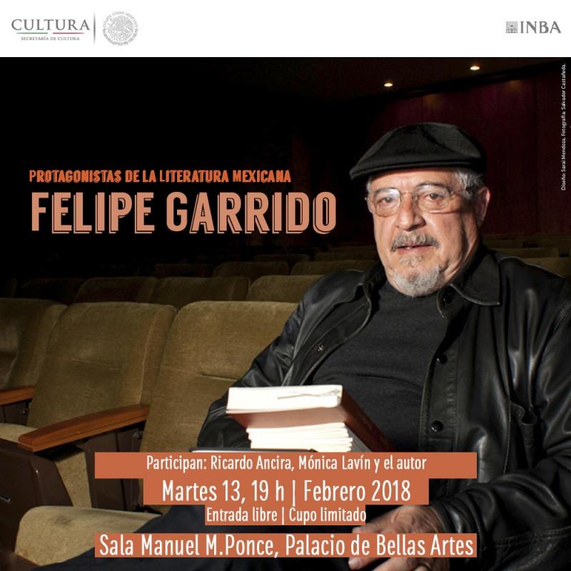 Felipe Garrido en Bellas Artes