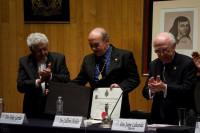 Guillermo Sheridan leyó su discurso de ingreso a la Academia Mexicana de la Lengua como miembro correspondiente