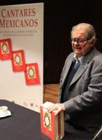 Don Miguel León-Portilla presentó los Cantares Mexicanos. El Códice de la Poesía Náhuatl Patrimonio de la Nación el pasado 22 de febrero en la Sala Netzahualcóyotl. Entrevista en video con el autor