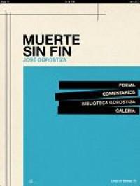 La aplicación digital del poema Muerte sin fin de José Gorostiza ya está disponible