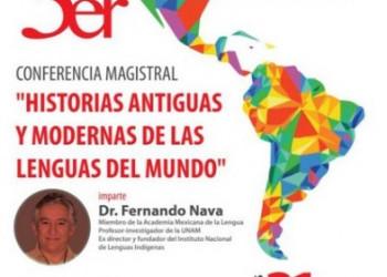 Fernando Nava en la Universidad Michoacana de San Nicolás de Hidalgo