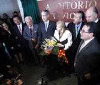 Imponen el nombre del académico honorario, don Octavio Paz, a una sala del Senado de la República