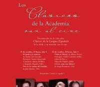 La Academia en la Cineteca: Presentación de la colección Clásicos de la Lengua Española y su relación con el cine