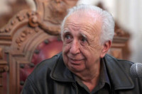 En Bellas Artes, la presentación del libro Los católicos, Vicente Leñero en torno a la fe
