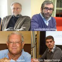 Ignacio Bosque, Antonio Muñoz Molina, Juan Jesús Armas Marcelo y José Luis Ramírez Luengo, nuevos miembros correspondientes de la Academia Mexicana de la Lengua