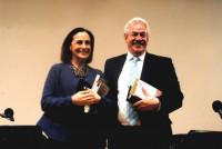 Diana Bracho y Gonzalo Celorio ofrecieron una sesión del programa el martes 14 de abril en la Sala Manuel M. Ponce del Palacio de Bellas Artes