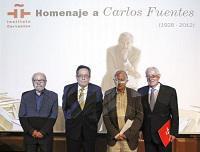 El Instituto Cervantes rindió un homenaje a Carlos Fuentes, escritor, novelista y miembro honorario de la Academia Mexicana de la Lengua