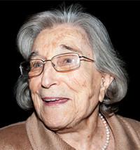 Margit Frenk celebra su cumpleaños número 92