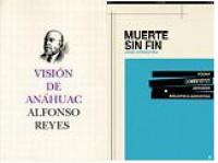 El Consejo Nacional para la Cultura y las Artes presentó las versiones digitales del poema Muerte sin fin de don José Gorostiza y del libro Visión de Anáhuac de don Alfonso Reyes